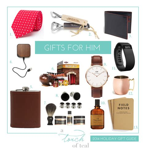 gifts for 2014 gift guide gifts for him a touch of teal