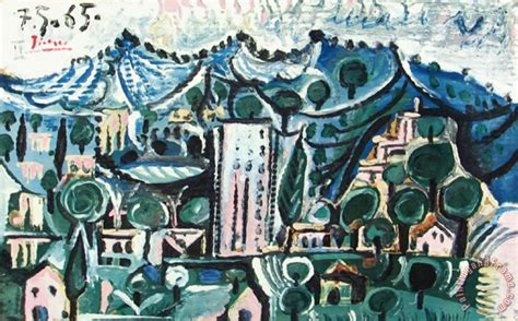 picasso painting yard sale pablo picasso landscape painting landscape print for sale