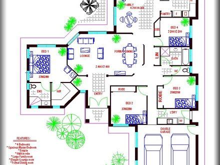 large family floor plans multi family compound house plans family compound floor