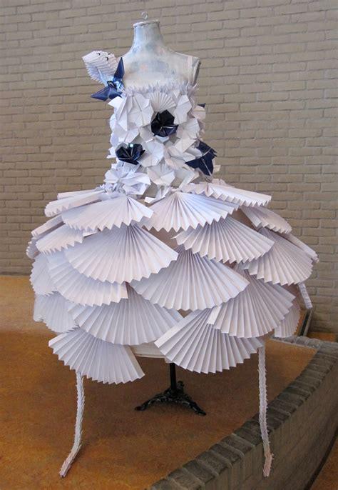 paper origami dress 40 beautiful exles of origami artworks
