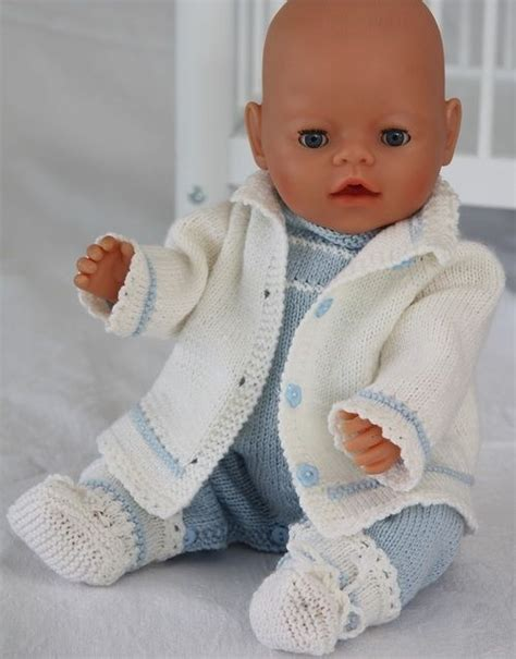 simple baby knits de 20 bedste id 233 er inden for baby born p 229