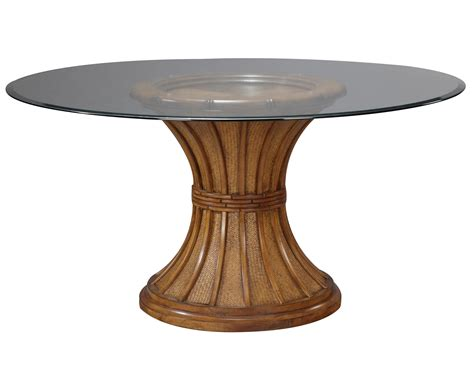 glass top pedestal dining room tables clear coating wooden pedestal based for square wooden side