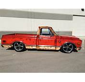 1968 CHEVROLET CUSTOM C 10 PICK UP TRUCK BAGGED PATINA