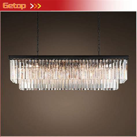 rectangular dining room chandelier aliexpress buy american country chandelier