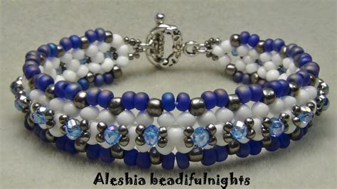 pics of beaded bracelets lattice beaded bracelet tutorial