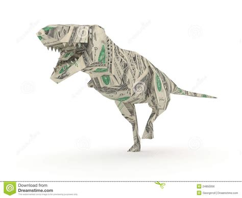 tyrannosaurus origami origami tyrannosaurus rex royalty free stock image image