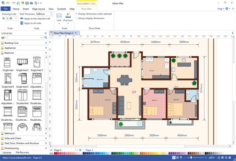 free floor plan maker free floor plan maker by edrawsoft v 7 9 software
