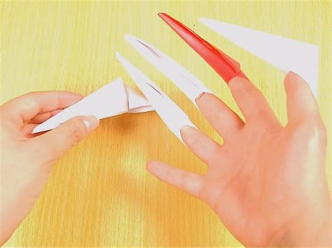 origami claws how to make origami paper claws 10 steps with pictures