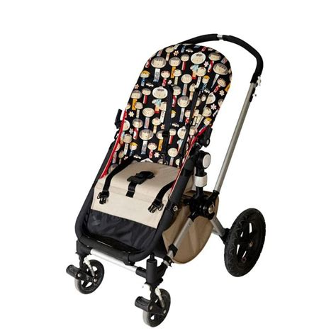 silla bebe bugaboo funda bugaboo camaleon japoneses fondo negro