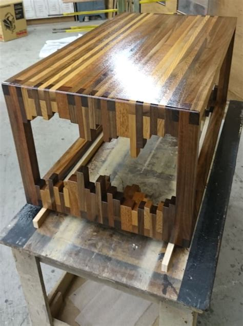 unique woodworking ideas it looks like a of jenga but what it becomes this