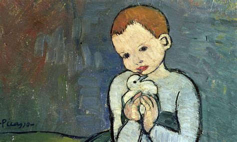picasso paintings child with a dove picasso among trove of uk owned artworks sold overseas in