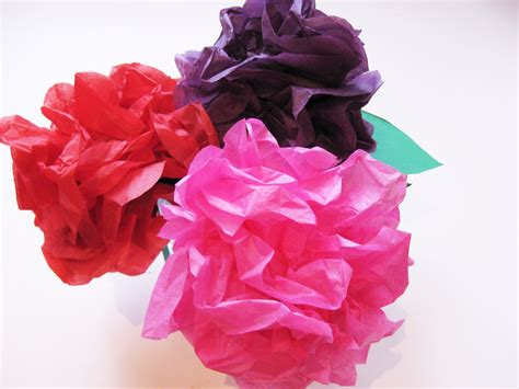 tissue paper flower craft ideas simple steps to make beautiful tissue paper flowers with
