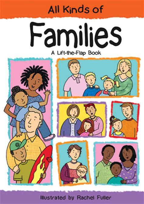 picture books about family different types different types of families
