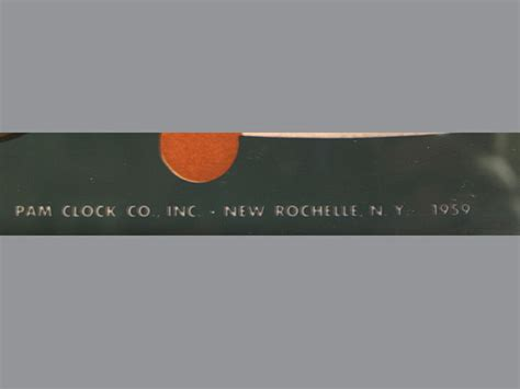 Econolite Motion Lamp by Advertising Clocks Vintage Thermometers Pam Clock