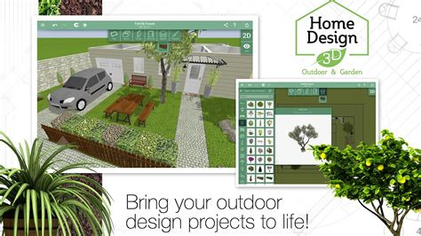 Design Outdoor Space Online Free home design 3d outdoor garden android apps on google play