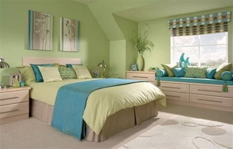 blue green bedroom ideas green bedroom with blue accent home interiors