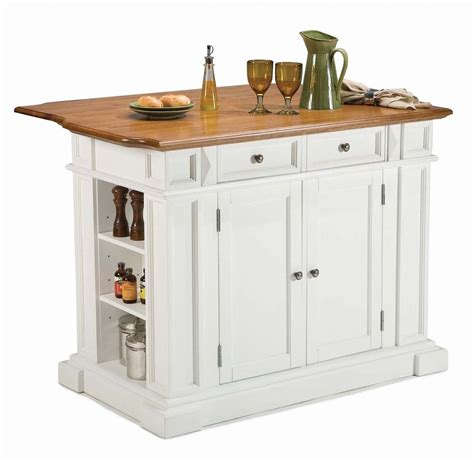 home styles kitchen island with breakfast bar shop home styles white farmhouse kitchen islands at lowes
