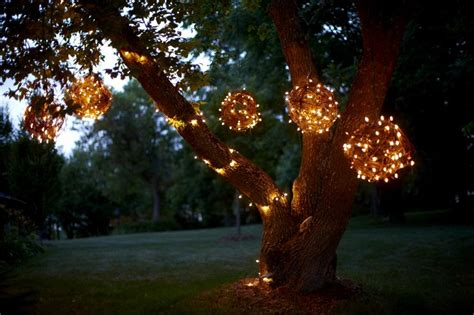 outdoor tree lights diy creating character with outdoor lighting soulful abode