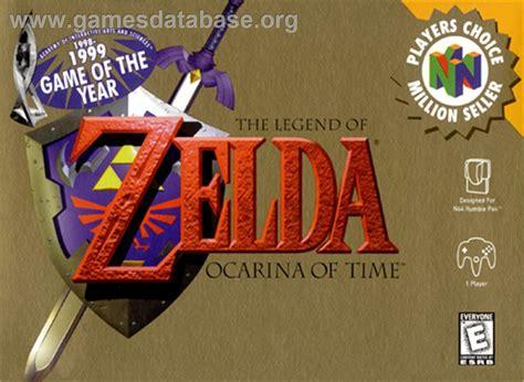 legend of ocarina of time nintendo 64 ocarina of time