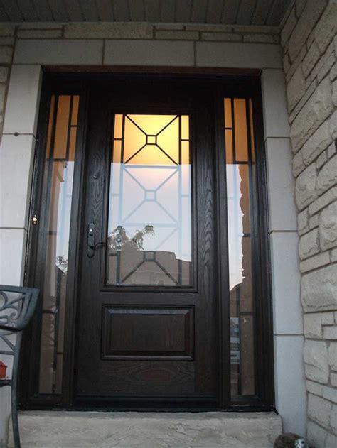exterior side doors custom fiberglass exterior doors