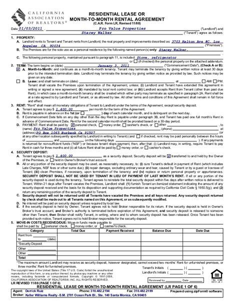 3703 kelton unit c m to m rental agreement