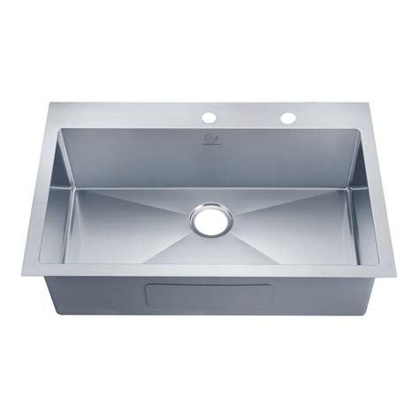 glacier bay kitchen sink glacier bay dual mount stainless steel 33 in 4