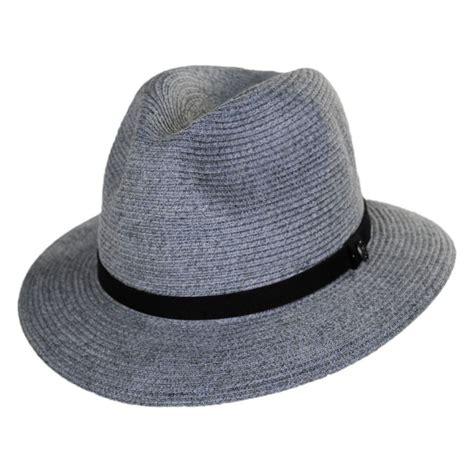 jaxon hats ramie hemp straw blend safari fedora hat straw