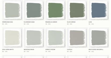 paint colors magnolia farms joanna gaines magnolia home paint line around the house