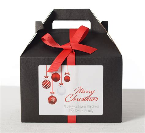 ornament gift boxes hanging ornaments gift boxes labelsrus