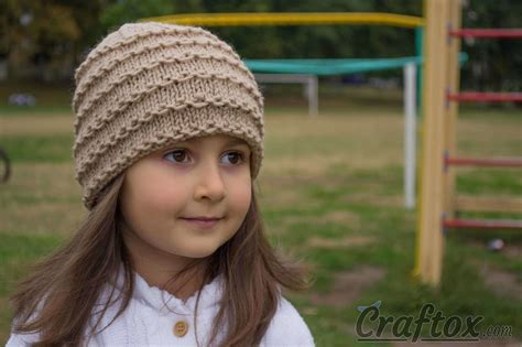 easy knitted beanies free patterns easy beanie knitting pattern free