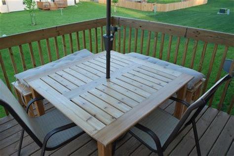 cedar patio table pdf diy cedar patio table plans carport building