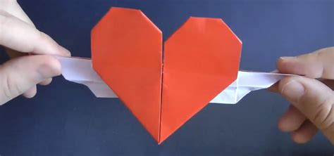 origami hearts with wings how to fold an origami with wings 171 origami