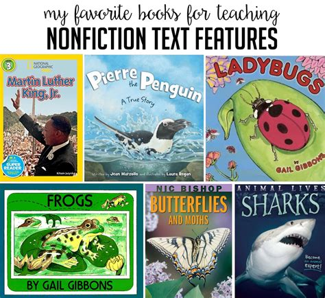 nonfiction picture books for books to teach nonfiction text features susan jones