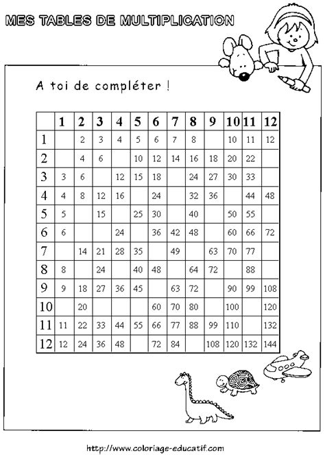 search results for table de multiplication coloriage calendar 2015