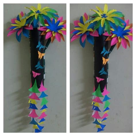 wall hanging craft ideas for flower wall hanging simple craft ideas