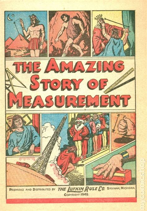measurement picture books amazing story of measurement 1949 comic books
