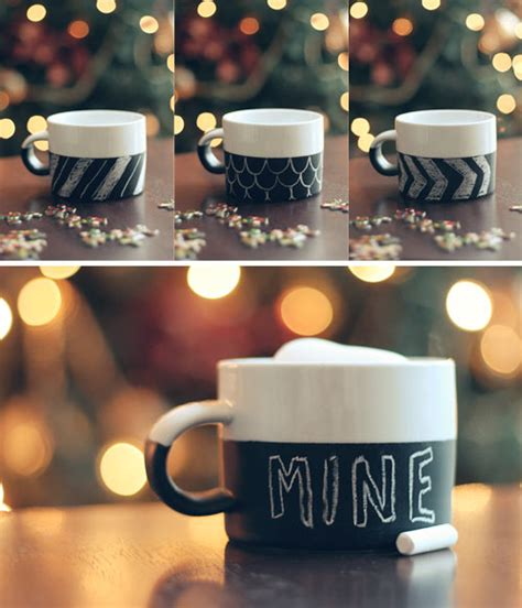 Diy Chalkboard Mug Wit Whistle