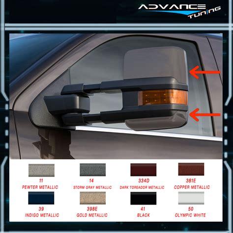 Chevy Silverado Power Towing Mirrors Ebay by Painted 02 07 Silverado Towing Mirrors Power Heated Signal