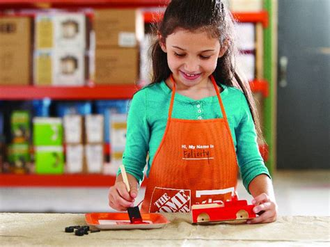 home depot kid craft build a truck for free at home depot