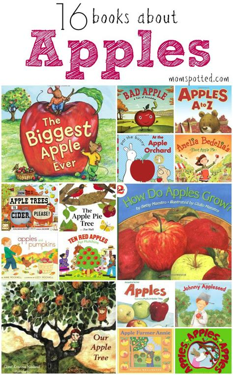 apple picture books 16 books about apples for