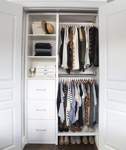 tiny closet organizers best 25 small closet organization ideas on