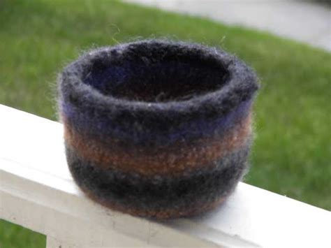 knitted yarn bowl pattern free knitting patterns hither and yarn