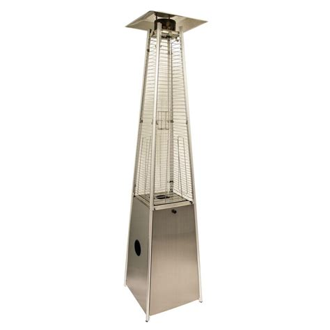 garden sun pyramid patio heater gardensun 40 000 btu stainless steel pyramid propane