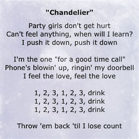 chandelier sia lyrics best 25 chandelier lyrics ideas on sia lyrics