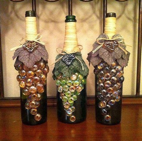 craft projects with wine bottles wine bottle crafts guide patterns