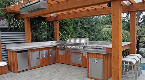 outdoor patio kitchen ideas outdoor kitchens the tub factory island tubs