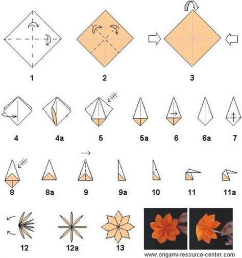 origami for beginners flowers origami