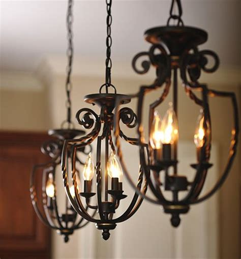 wrought iron pendant lights kitchen three wrought iron hanging pendant light fixtures