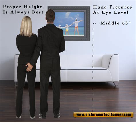 proper height to hang pictures 28 height to hang pictures the picture height