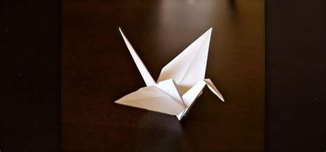prison origami bird how to fold a paper origami crane 171 origami wonderhowto